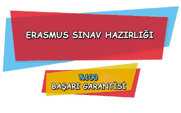 Erasmus Sınavına Hazırlık Kursu